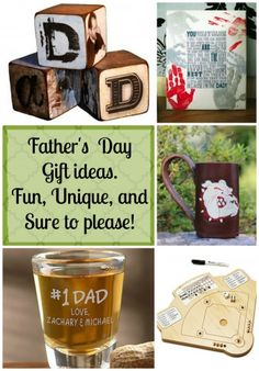 15 great Father's day gift ideas that are fun and unique. #fathersdaygifts #dadgifts #giftideasforhim