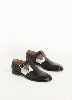 Maison Martin Margiela Cut Out Derby (Black)