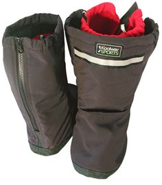 Boots that can be worn over AFOs!