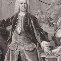 Portret van Gustaaf Willem Baron van Imhoff (I), Pieter Tanjé, after Philip van Dijk, 1745 - Rijksmuseum