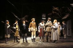 Merry Wives with Bob Peck (still missed), Ben Kingsley and John Woodvine.
