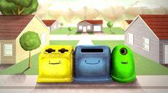 """Cortometraje que han hecho con """"Los nuevos vecinos"""", Cuento ganador del concurso """"Los profes cuentan..."""" de ECOEMBES. Para promover el reciclaje."""