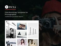 Picxa is a minimal yet creativeFull Screen Template with grid system layout. Picxa is full responsive layout and Retina Ready. Best HTML Template for Photography. A perfect choice for wide range of websites such as personal blog, photography, personal portfolio,blog etc.