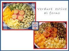 Verdure estive al forno, un ottimo contorno veramente facile da preparare.