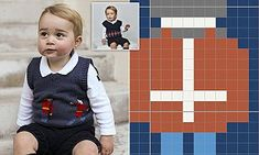 Knit George's cute jumper with this easy-to follow pullout pattern | Daily Mail Online