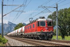 Location Map, Photo Location, The Final Destination, Swiss Railways, Electric Locomotive, Felder, Switzerland, Germany, Train