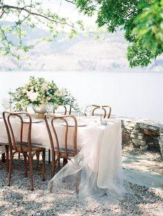 Navy + Copper Mountaintop Wedding Inspiration