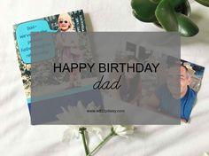 Happy Birthday Dad - www.adizzydaisy.com