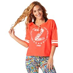 BEACH BALLER BASEBALL TEE - CORAL CRAZE -------- Knock it out of the park in the Beach Baller Baseball Tee! Featuring distressed fabric and prints for a vintage look, this crop length tee is a number one stunner.