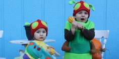 54 Cute, Creepy And Clever Halloween Costumes For Siblings