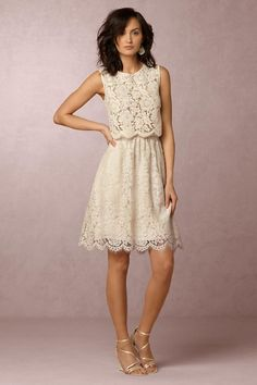 BHLDN Cleo Top in  Bride Bridal Separates Tops at BHLDN