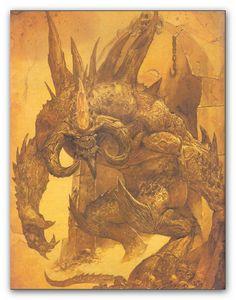 The Manifestation of Fear, Diablo  Illustration