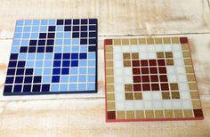 Descanso de panelas em mosaico