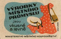 czechoslovakian #matchbox label To design & Order your logo #matches Visit: GetMatches.com