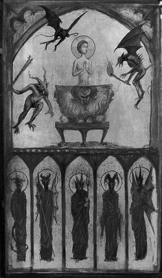 All things truly wicked start from innocence. Arte Obscura, Demonology, Occult, Satan, Devil, Supernatural, Medieval, Gothic, Weird