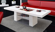 High Gloss, Living Room Furniture, Designer, Coffee, Table, Amazon, Home Decor, Small Coffee Table, Living Room White