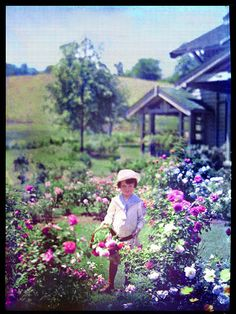 Autochrome by Arnold Genthe - American Museum of Photography - Autochromes: The World Goes Color-Mad