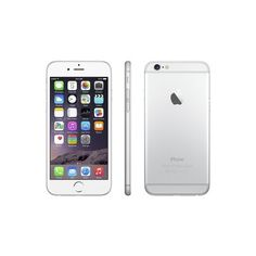 iPhone 6 16GB Silver AT&T with 2-year contract ❤ liked on Polyvore featuring accessories, tech accessories, phones, electronics, extra and iphones