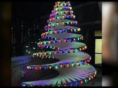 How to make your own Amazing christmas tree ~ navidad arbol. How to create your own Amazing christmas tree Diy christmas tree create your own christmas tree,create a christmas tree,how to create your own Amazing christmas tree,diy com christmas Spiral Christmas Tree, Unique Christmas Trees, Handmade Christmas Tree, Alternative Christmas Tree, Wooden Christmas Trees, Modern Christmas, Christmas Tree Toppers, Christmas Lights, Christmas Diy