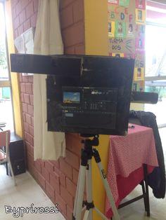 Após um passeio na RICTV e Rádio Jovem Pan voltamos para a escola inspirados, confeccionamos nossos instrumentos de trabalho e realizamos várias entrevistas pela escola! #preschool #dramaticplay #profissões #reporter #educaçãoinfantil