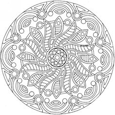 Coloring pages on Pinterest   Coloring pages mandala, Mandala coloring ...  Detailed Mandala Coloring Pages For Adults
