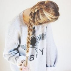 Definitely will braid my hair like this. Dutch Braid - Hairstyles and Beauty Tips #KSadventure #KendraScott