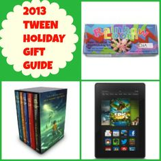 2013 Tween Holiday Gift Guide - a list of 10 gifts that just about any tween would love to receive this Christmas or holiday season