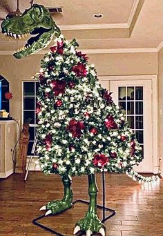Tree Rex, Winnie The Pooh, Traditional Christmas Tree, Alternative Christmas Tree, Graffiti Murals, Cyberpunk 2077, Glass House, Christmas Traditions, Garland