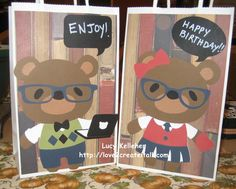 Love 2 Create: It's All About the Bears Blog Hop - Day 3