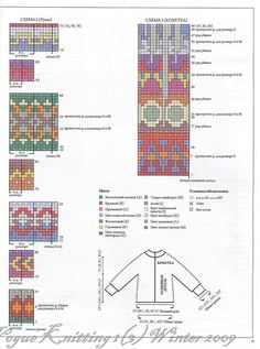 Knitting Charts, Baby Knitting Patterns, Hand Knitting, Stitch Patterns, Fair Isle Chart, Fair Isle Pattern, Hand Embroidery Videos, Fair Isle Knitting, Tapestry Crochet