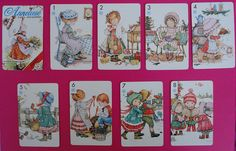 Vintage Anneliese playing cards / Baraja de cartas Anneliesse de Fournier   Flickr - Photo Sharing!