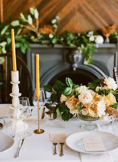 Yellow & Mustard Wedding Ideas via Magnolia Rouge