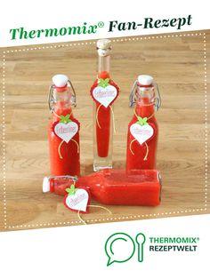 Erdbeerlimes von bettys-kochwelt. Ein Thermomix ® Rezept aus der Kategorie Getränke auf www.rezeptwelt.de, der Thermomix ® Community.