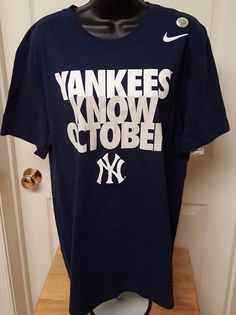 Nike NWT Unisex Multi Color New York Yankees T-Shirt Size M #Nike #NewYorkYankees