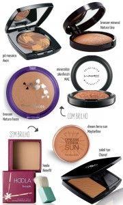 maquiagem para pele negra - blush bronzer contorno iluminador - justfound.com.br 04