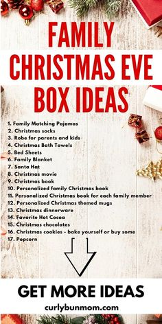 What To Put In Your Family Christmas Eve Box? Get These Filler Ideas!