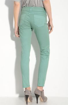 Wit and Wisdom Color Denim Skinny Jeans (Nordstrom Exclusive) | Nordstrom - StyleSays