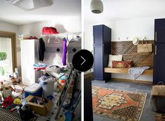 Before & After – Laundry Room Makeover