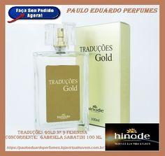 Traduções Gold nº 9 Feminina Concorrente: Gabriela Sabatini 100 ml