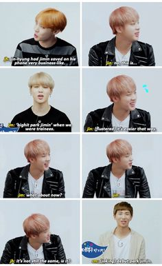 Lol didn't Jin do a vlive where he was calling other members and he searched up bighit first to find their numbers XD I guess that means he had kept it all these years haha