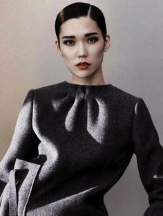 Tao Okamoto photographed by Josh Olins for Vogue China, August 2013