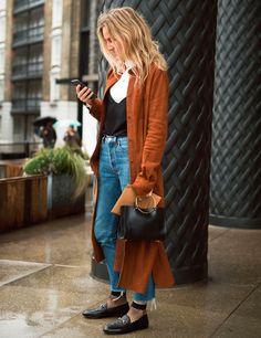 Coat, shirts, jeans, shoes, purse, yeah. Those SOCKS?!?! No.