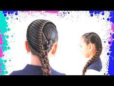 5 Peinados Faciles Y Rapidos Y Bonitos Con Trenzas (P16) | Peinado 2015 - 2016 ♥ Yencop - YouTube