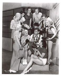 with Clark Gabel