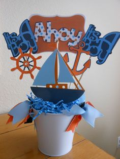 Nautical+Theme+Ahoy+it's+a+Boy+Baby+Shower+by+ASweetCelebration