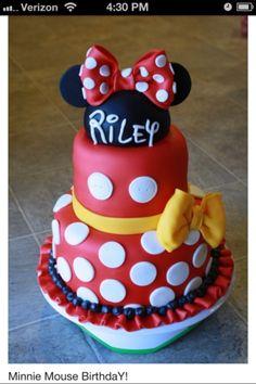 minnie mouse red | Red Minnie Mouse Cake Minnie mouse cake red