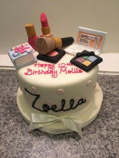 Zoellas Birthday Cake 2016