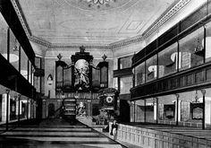 St Marylebone Parish Church 1817 Interior
