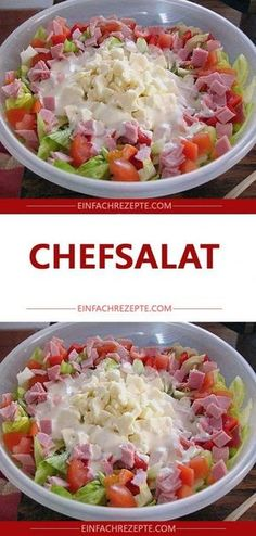 Chef salad The post Chef salad appeared first on Dessert Platinum. Brownie Dessert Platinum : Chef salad The post Chef salad appeared first on Dessert Platinum. Summer Dessert Recipes, Healthy Summer Recipes, Healthy Salad Recipes, Snack Recipes, Dinner Recipes, Lemon Desserts, Chef Salad, Food Salad, Best Pasta Salad