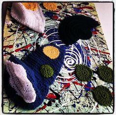 #Crochet #art in my home